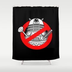 TimeBusters Shower Curtain
