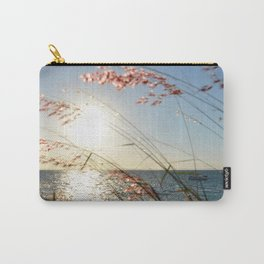 Through grass see the sea... Carry-All Pouch