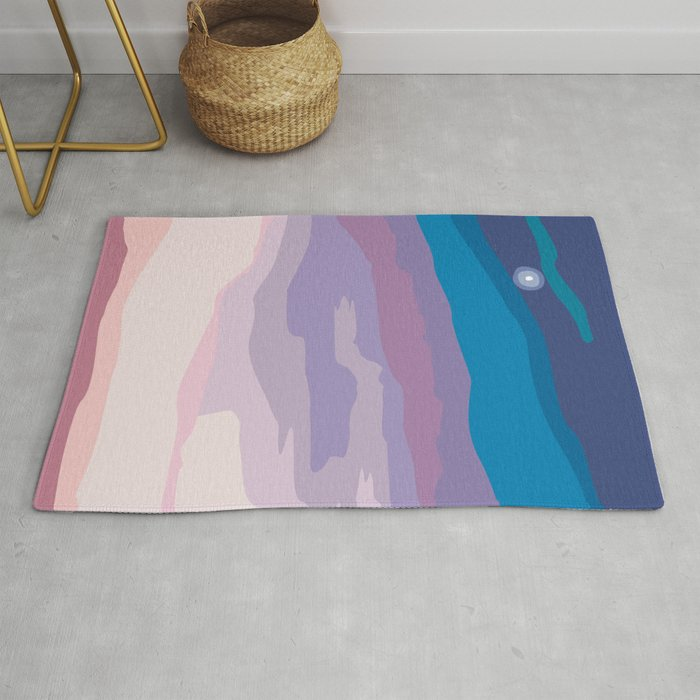 Painted Sunset Rug