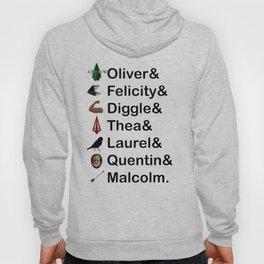 Arrow Names Hoody
