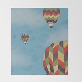 Up, Up, and Away! Throw Blanket