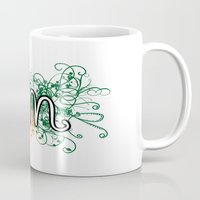 miami Mugs featuring Miami by Tanie