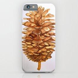 Pinecone iPhone Case