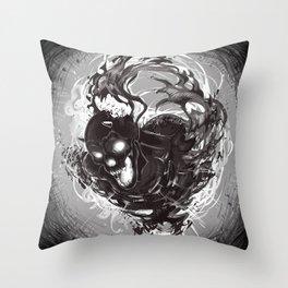 Dark Death Throw Pillow
