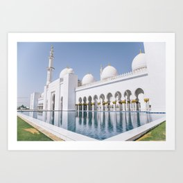 Abu Dhabi 3 Art Print