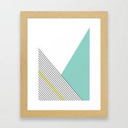 MINIMAL COMPLEXITY Framed Art Print