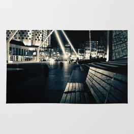 Spotlights in Montreal Rug
