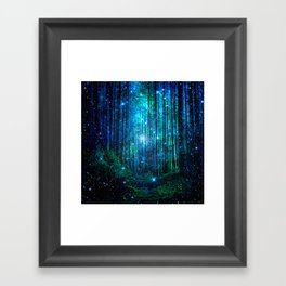 magical path Framed Art Print