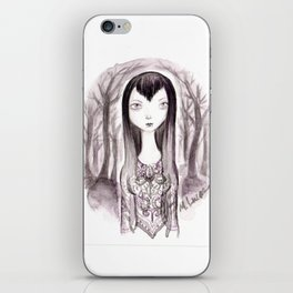 Vamp Girl iPhone Skin