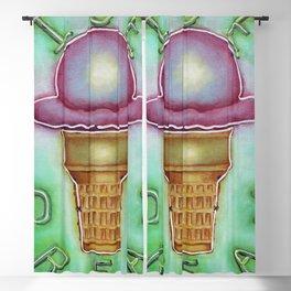 Neon Ice Cream Blackout Curtain
