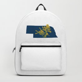 Nebraska Goldenrod Backpack
