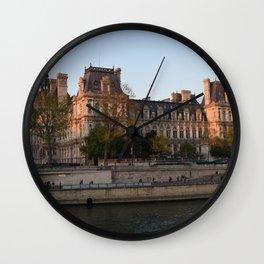 senna parigi Wall Clock