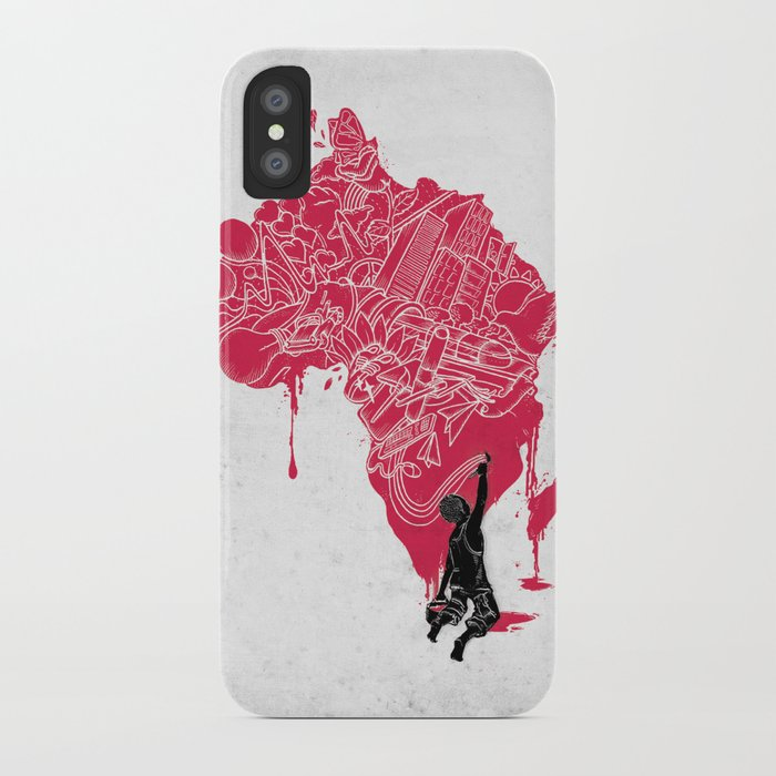 RE | Draw AFRIKA iPhone Case