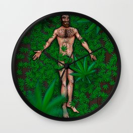 Reefer Madness/American Beauty Wall Clock
