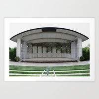 theater Art Prints featuring Theater by Philport Photography
