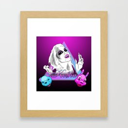 Ke$ha Framed Art Print