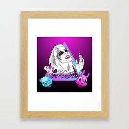 Ke$ha Framed Art Print