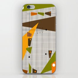 Explosion Of Rectangles iPhone Skin