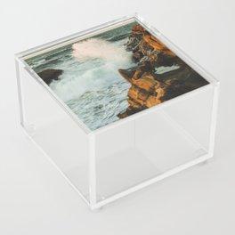 waves come crashing Acrylic Box