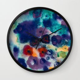 flowers pattern I Wall Clock