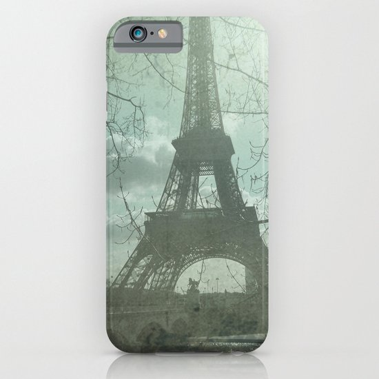 Monday in Paris iPhone & iPod Case