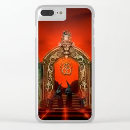 Hell Gate Clear iPhone Case