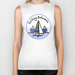 Beard Boy: Sailing Bohemia Biker Tank