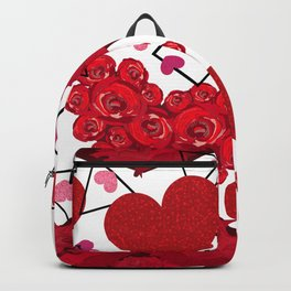 Hearts Made of Roses Backpack
