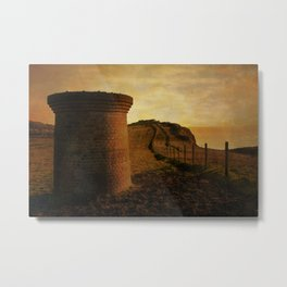 On Shakespeare Cliff Metal Print