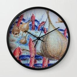 Onion revolution Wall Clock