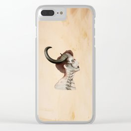 horns Clear iPhone Case
