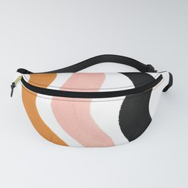 wiggly stripes Fanny Pack