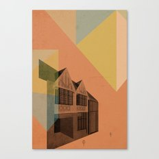 Pape Danforth Branch Canvas Print