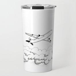 Airplane taking off Travel Mug