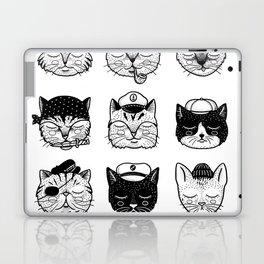 Ocean Cats Laptop & iPad Skin