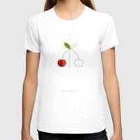 half life T-shirts featuring HALF (cherry) LIFE by Nillustra™