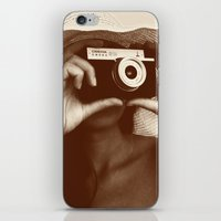photographer iPhone & iPod Skins featuring Photographer by XfantasyArt