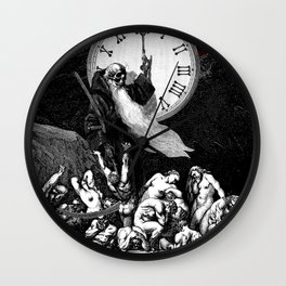 Two Minutes To Midnight Wall Clock