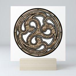 Bronze Medallion Mini Art Print