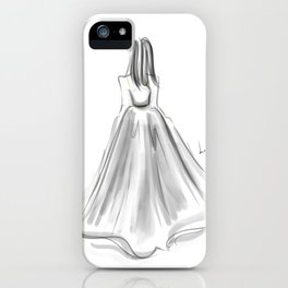 Moving B(l)ackward iPhone Case