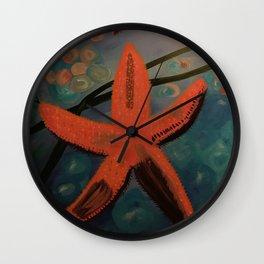 Starfish Regeneration Wall Clock