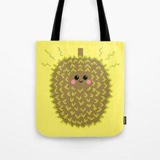 Happy Pixel Durian Tote Bag
