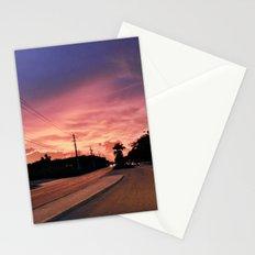 Miami Sunrise Stationery Cards