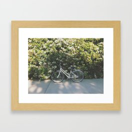 Just Ride Framed Art Print
