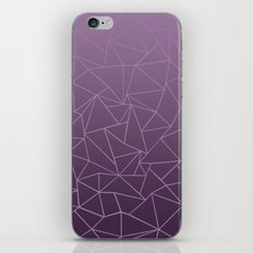 Ombre Ab Plum iPhone & iPod Skin