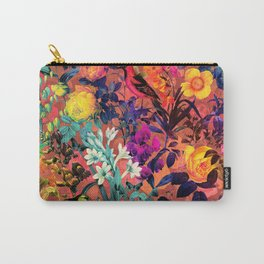 Floral and Birds II Carry-All Pouch