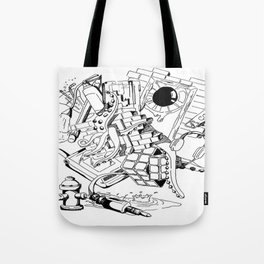 Collage of Thoughts Tote Bag