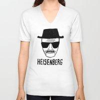 heisenberg V-neck T-shirts featuring HeisenBerg by IIIIHiveIIII