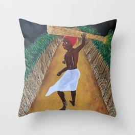 Sugarcane Throw Pillow
