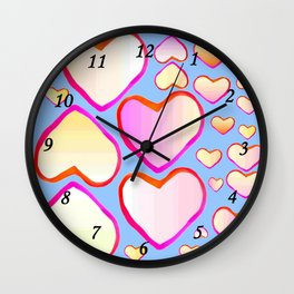 Heart of love Wall Clock